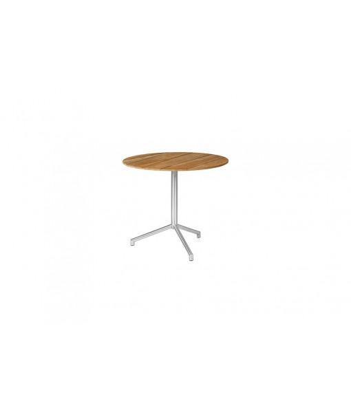 CAFFE round table 70 (flip-top/teak)