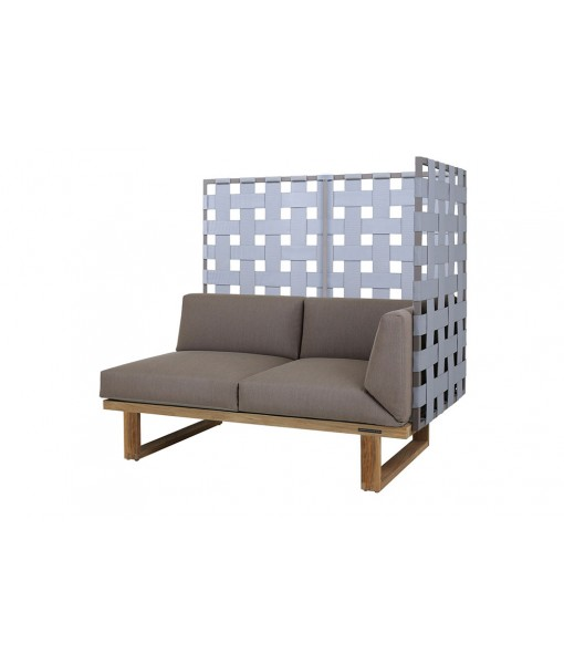 KYOTO sectional left hand 2-seater privacy