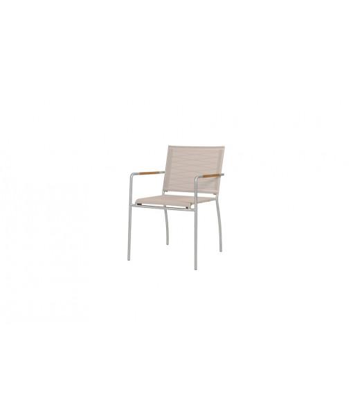 NATUN stacking chair (hemp)