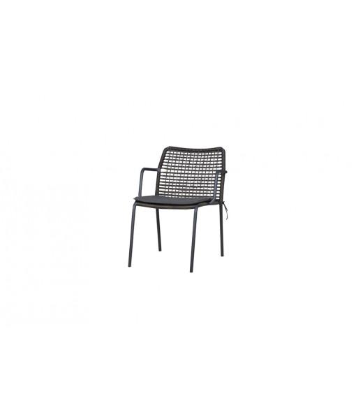 MANDA chair woven (aluminum)