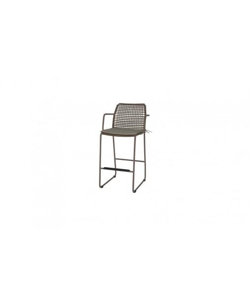 MANDA bar armchair (aluminum)