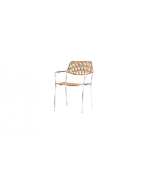 MEIKA stacking chair (wicker)