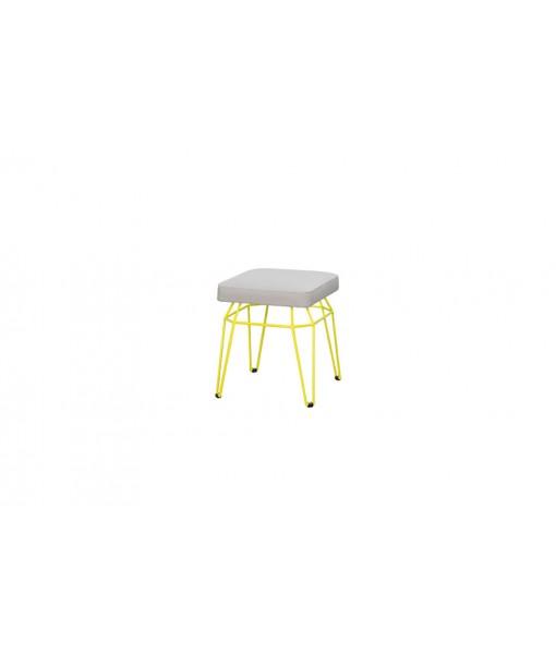 MATCH square stool (leisuretex)