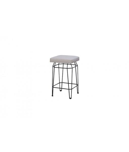 MATCH square counter stool (leisuretex)