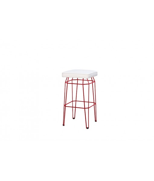 MATCH square bar stool (stamskin)