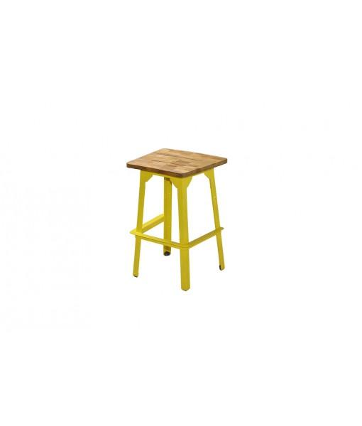 INDUSTRIAL organic bar stool