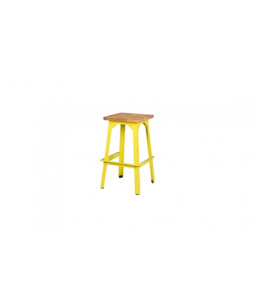 INDUSTRIAL square bar stool