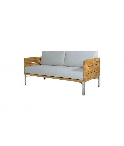 INDUSTRIAL lounge 2-seater (teak)