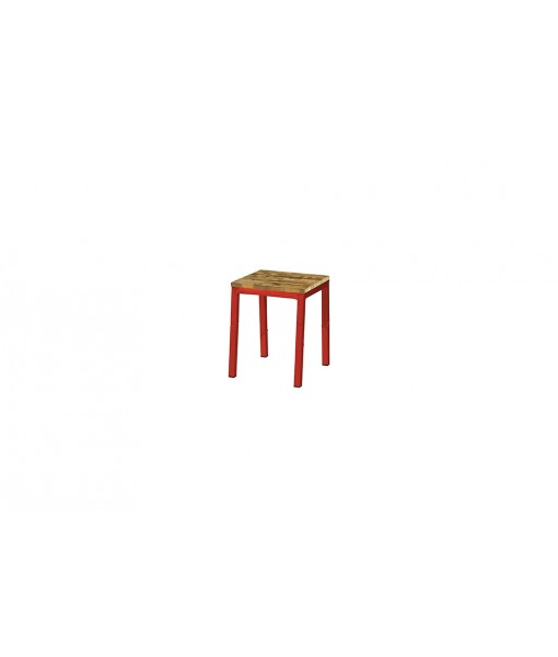 INDUSTRIAL bistro stool (alu)