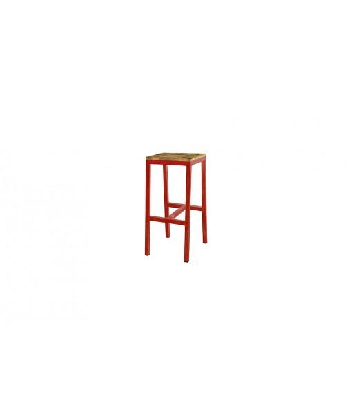 INDUSTRIAL bar bistro stool (alu)