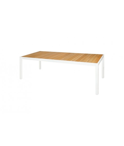 ALLUX dining table 220 (straight slats)