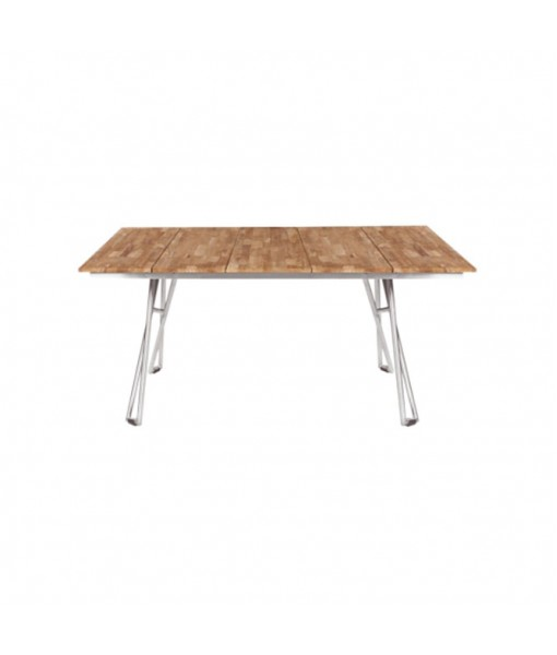 NATUN slat table 161 (teak)