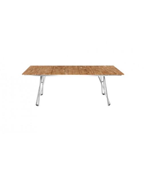 NATUN slat table 225 (teak)