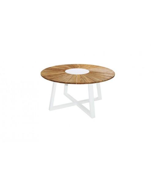 BAIA round table 150 (teak+aluminum)