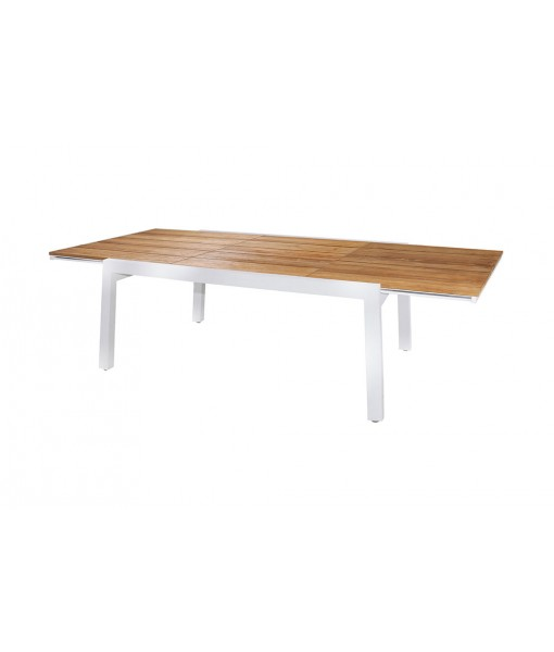 BAIA extension table 170 (teak+stainless steel)