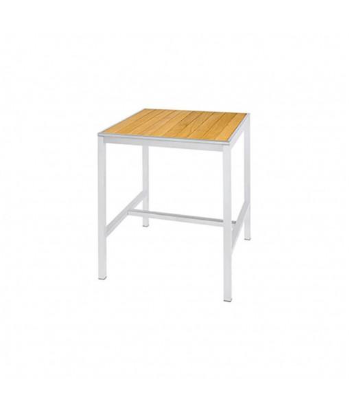 ZIX bar table 80 (straight slats)