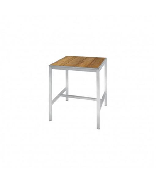 ZIX bar table 80 (recycled teak)