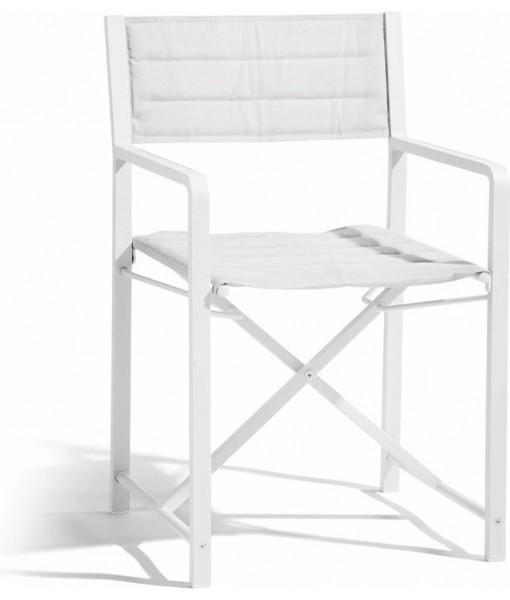 Cross chair white - textiles white