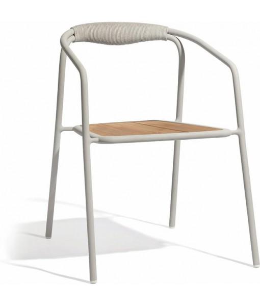 Duo chair - flint - rope ...
