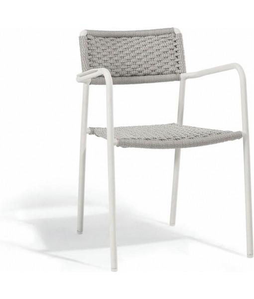 Echo chair - white - rope ...