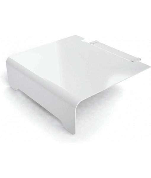 Elements footrest 70 - white
