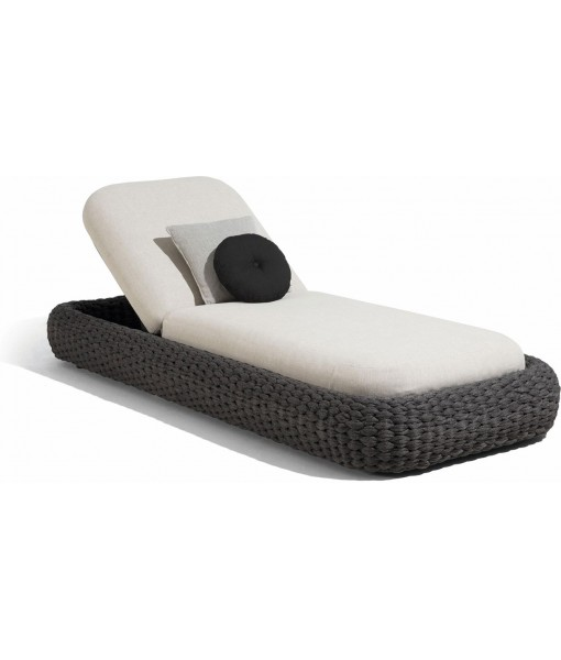 Kobo lounger - rope 45mm anthracite