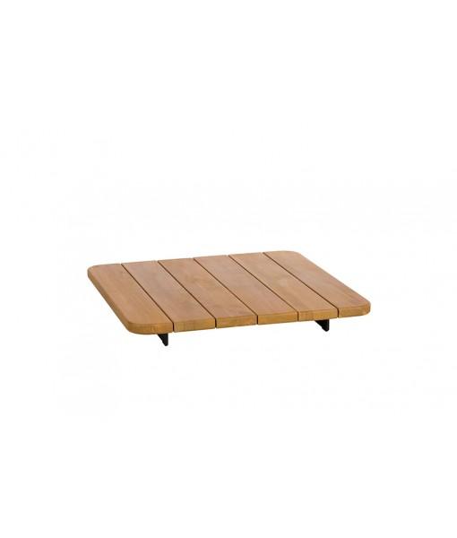 PAL Teak Top Square Table