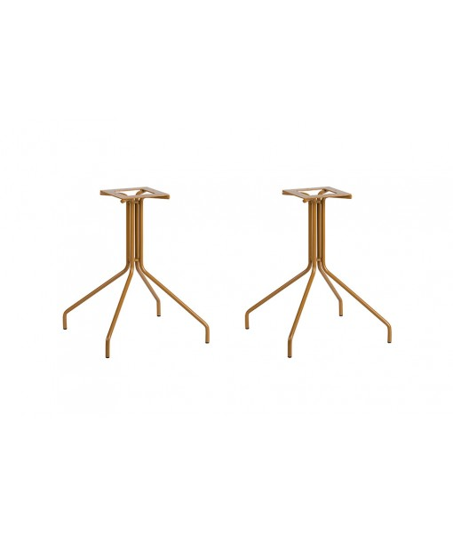 WEAVE Double Table Base 4 Legs