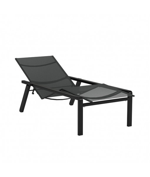 ALURA LOUNGER ANTHRACITE WITH BATYLINE BLACK