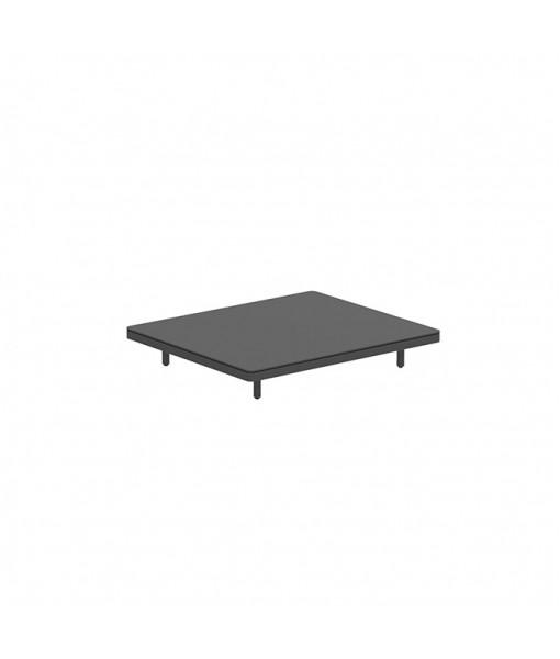 ALURA LOUNGE 140 TABLE 140X120X23CM BLACK ...