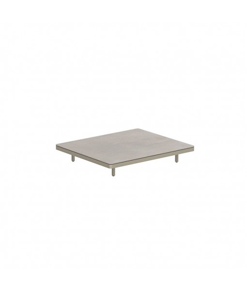 ALURA LOUNGE 140 TABLE 140X120X23CM SAND ...