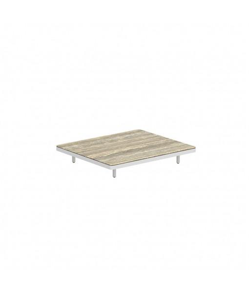 ALURA LOUNGE 140 TABLE 140X120X23CM WHITE ...