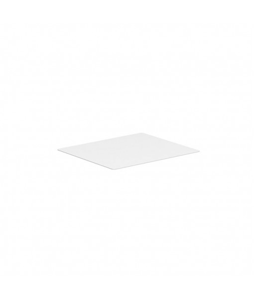 ALURA LOUNGE TABLETOP 140X120CM CERAMIC WHITE