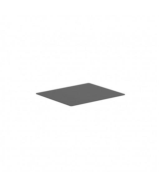 ALURA LOUNGE TABLETOP 140X120CM CERAMIC BLACK