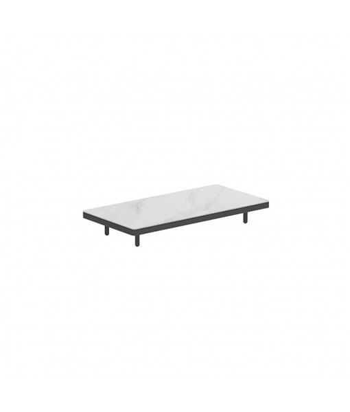 ALURA LOUNGE 160 TABLE 160X80X23CM BLACK ...