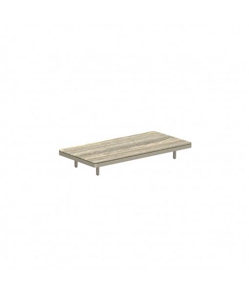 ALURA LOUNGE 160 TABLE 160X80X23CM SAND ...