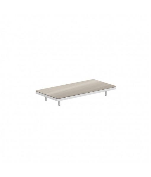 ALURA LOUNGE 160 TABLE 160X80X23CM WHITE ...