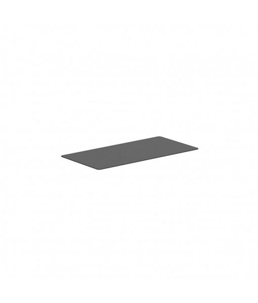 ALURA LOUNGE TABLETOP 160X80CM CERAMIC BLACK
