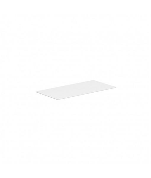 ALURA LOUNGE TABLETOP 160X80CM GLASS WHITE