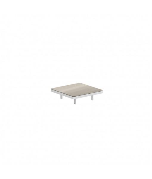 ALURA LOUNGE 80 TABLE 80X80X23CM WHITE ...