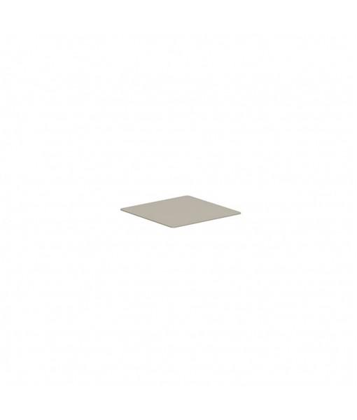 ALURA LOUNGE TABLETOP 80X80CM GLASS PEARL ...