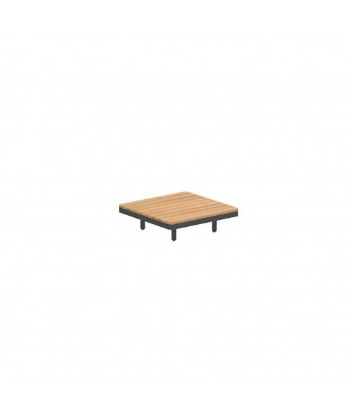 ALURA LOUNGE 80 TABLE 80X80X23CM BLACK ...