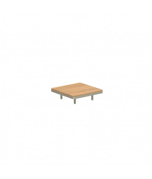 ALURA LOUNGE 80 TABLE 80X80X23CM SAND ...