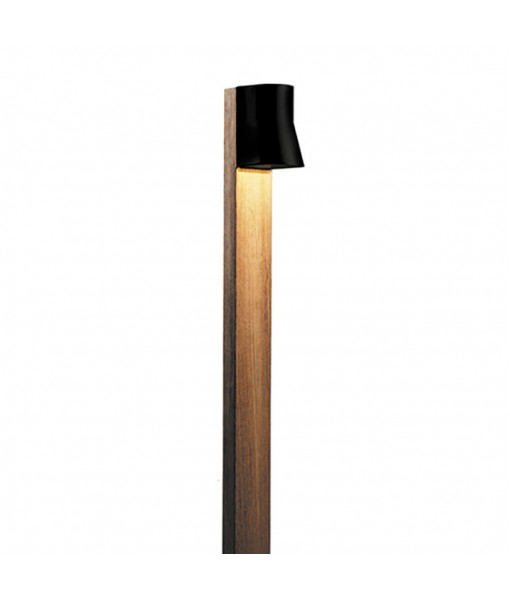 BEACON BOLLARD LAMP 140CM BLACK