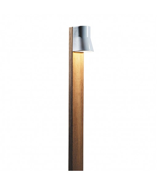 BEACON BOLLARD LAMP 140CM WHITE