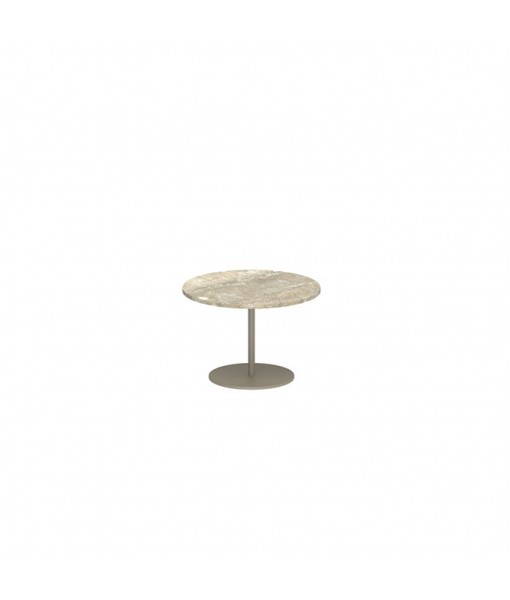 BUTLER SIDE TABLE 40CM ROUND SAND ...
