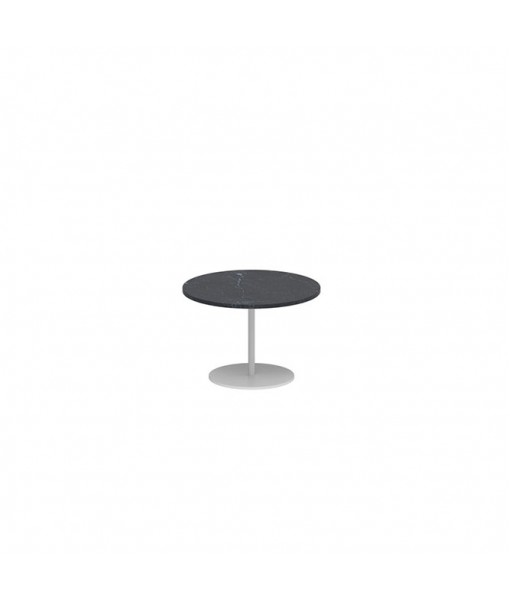 BUTLER SIDE TABLE 40CM ROUND WHITE ...