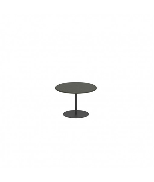BUTLER SIDE TABLE 40CM ROUND ANTHRACITE ...