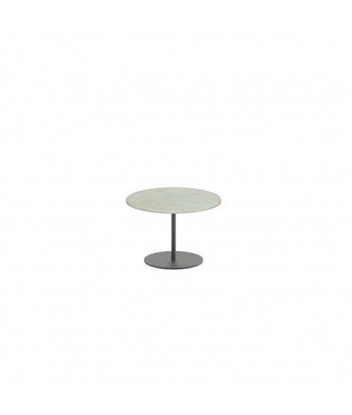BUTLER SIDE TABLE 40CM ROUND BRONZE ...