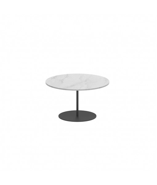 BUTLER SIDE TABLE 60CM ROUND ANTHRACITE ...